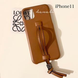 iPhone11対応 レザーケース