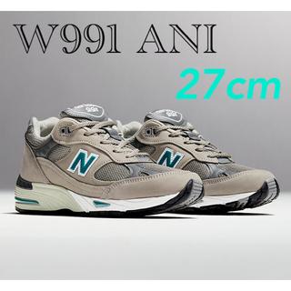 ニューバランス(New Balance)のnew balance M991 / W991 ANI UK8 27cm(スニーカー)