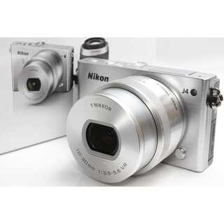 ニコン(Nikon)の❤️Wi-Fi内蔵&タッチパネル❤️Nikon 1 J4 電動ズームレンズキット(ミラーレス一眼)