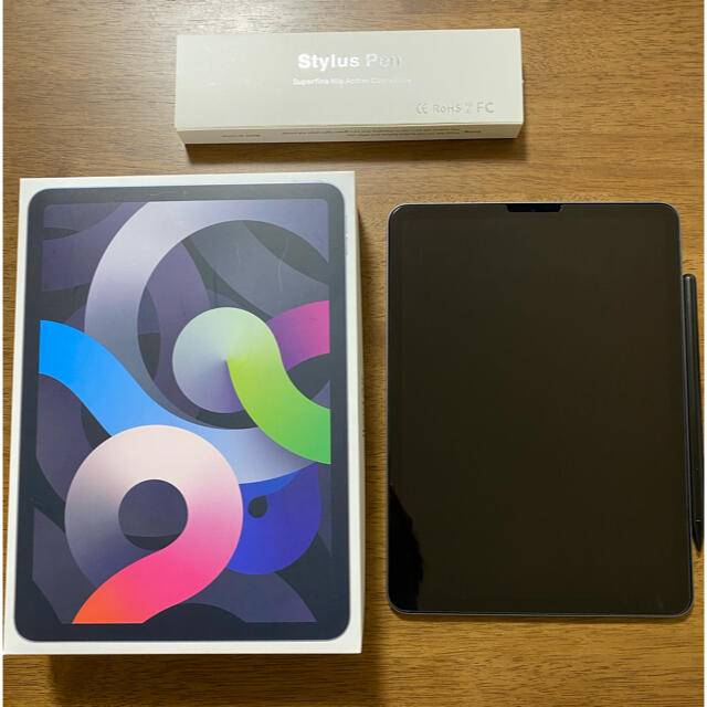 Apple(アップル)のiPad  Air4 256gb おまけ大量 スマホ/家電/カメラのPC/タブレット(タブレット)の商品写真