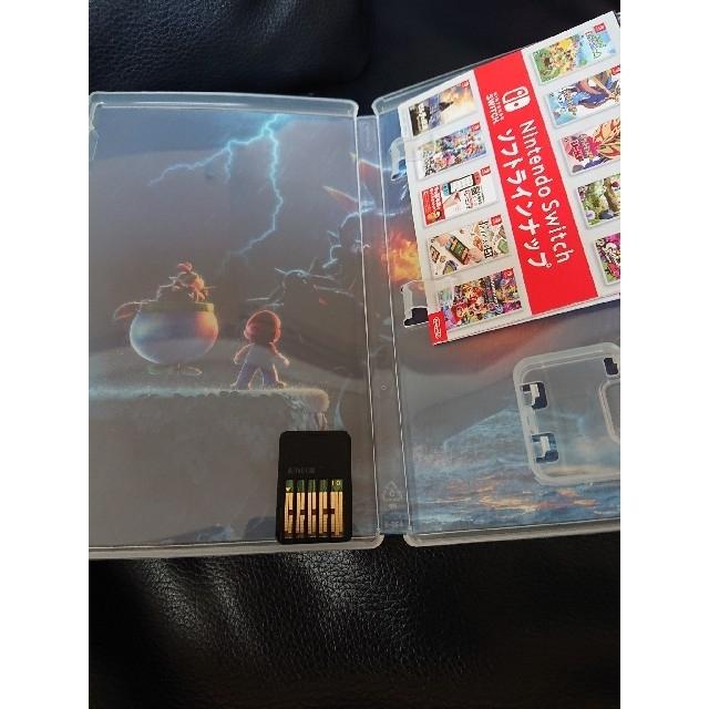 Nintendo Switch(ニンテンドースイッチ)のMARIO 3DWORLD +フューリーワールド Switch エンタメ/ホビーのゲームソフト/ゲーム機本体(家庭用ゲームソフト)の商品写真