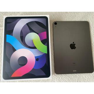 アップル(Apple)の10.9インチiPad Air4本体Wi-Fiモデル 64GB -スペースグレイ(タブレット)