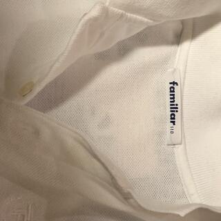 ファミリア(familiar)のファミリア 綿ポロシャツ 110 小学校受験用 定番 格安で(Tシャツ/カットソー)