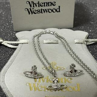 Vivienne Westwood - ネックレスピアスセット シルバー