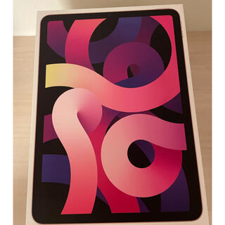 アイパッド(iPad)のiPad Air 4 ローズゴールド 64GB ほぼ新品(タブレット)
