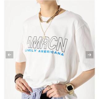 ドゥーズィエムクラス(DEUXIEME CLASSE)の【AMERICANA/アメリカーナ】 WIDE Tシャツ(Tシャツ(半袖/袖なし))