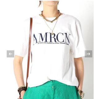 ドゥーズィエムクラス(DEUXIEME CLASSE)の【AMERICANA/アメリカーナ】 AMRCN Tシャツ(Tシャツ(半袖/袖なし))