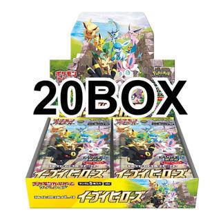 ポケモン(ポケモン)のポケモンカード イーブイヒーローズ 20BOX 未開封 シュリンク付き(Box/デッキ/パック)