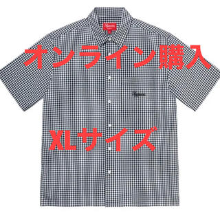 シュプリーム(Supreme)の21ss supreme Gingham シャツ(シャツ)