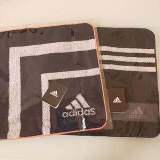 アディダス(adidas)のadidas タオルハンカチ(ハンカチ/ポケットチーフ)