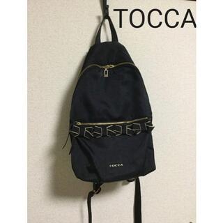 TOCCA - トッカ  tocca ブラックリボンリュック マザーズバッグ