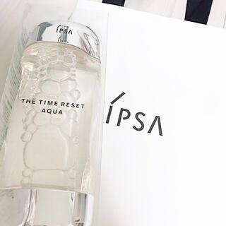 IPSA - サンプル付き IPSA イプサ ザ・タイムR アクア 化粧水 ニキビ