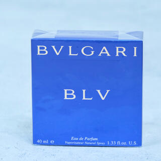 ブルガリ(BVLGARI)の廃盤 ブルガリ BVLGARI ブルーオードパルファム BLV 40ml(香水(男性用))