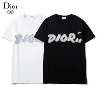 Dior - Tシャツ男女兼用半袖Diorディオール[2枚8000円送料込み]