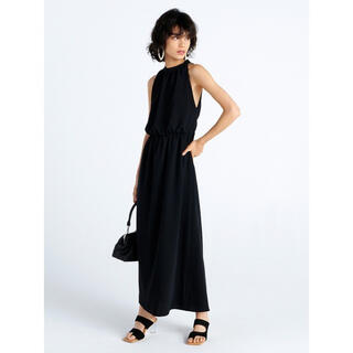 FRAY I.D - 【1度着用クリーニング済】FRAY.ID ブラック ノースリーブ 背中空きドレス