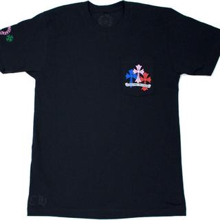 クロムハーツ(Chrome Hearts)のクロムハーツ マルチカラー ロンT 半袖 Tシャツ(Tシャツ/カットソー(半袖/袖なし))