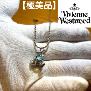 Vivienne Westwood - 【極美品】viviennewestwood クマ カラーストーン ネックレス