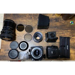 マミヤ(USTMamiya)のMamiya rb67 proS + レンズ + 付属品(フィルムカメラ)
