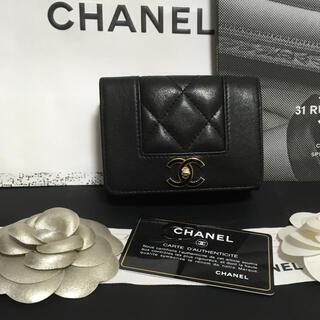 シャネル(CHANEL)の美品♡ CHANEL シャネル マドモアゼル 三つ折り財布 正規品(財布)