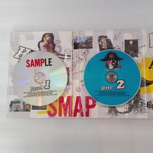 SMAP(スマップ)のSMAPとイッちゃった!SMAP SAMPLE TOUR  2005  DVD  エンタメ/ホビーのDVD/ブルーレイ(ミュージック)の商品写真