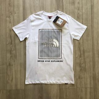 ザノースフェイス(THE NORTH FACE)の【新作】海外限定 ノースフェイス ジュニア グラフィック ロゴ Tシャツ 140(Tシャツ/カットソー)