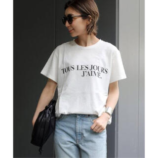 DEUXIEME CLASSE - 追加 J'AIME Tシャツ ホワイト ドゥーズィエムクラ J'AIME