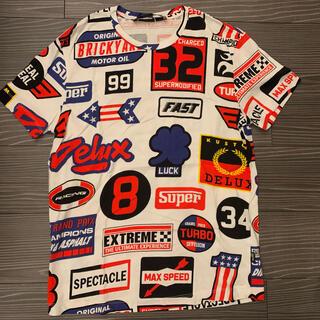 モスキーノ(MOSCHINO)の【LOVEモスキーノ】tシャツ/xs/レディースもOK(Tシャツ/カットソー(半袖/袖なし))