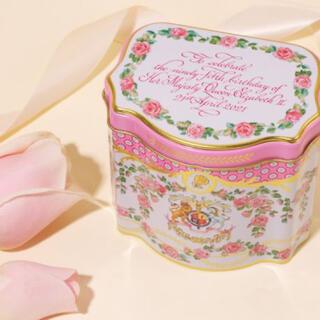 【即購入可】エリザベス女王誕生日記念紅茶缶 英国王室公式商品(茶)