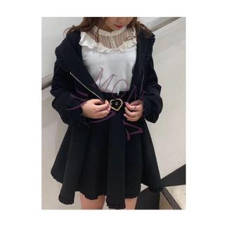 ROJITA - ROJITA ハートバックルフレアスカート ブラック