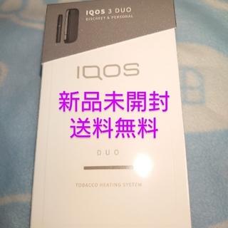 IQOS - 【新品未開封】IQOS アイコス 3 DUO キット 本体  ベルベットグレー