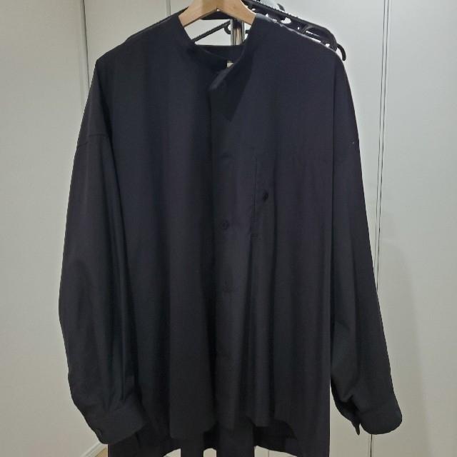 ISSEY MIYAKE(イッセイミヤケ)のISSEY MIYAKE MEN 19SS ビッグバンドカラーブロードシャツ メンズのトップス(シャツ)の商品写真