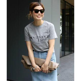 ドゥーズィエムクラス(DEUXIEME CLASSE)の追加 J'AIME Tシャツ グレー J'AIME(Tシャツ(半袖/袖なし))