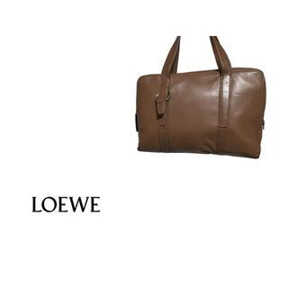 ロエベ(LOEWE)のVintage LOEWE レザー ハンドバッグ /  ロエベ ブリーフケース(ハンドバッグ)