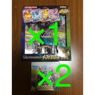 ポケモン(ポケモン)のポケモンカードゲームソード&シールド 強化拡張パックイーブイヒーローズbox(Box/デッキ/パック)