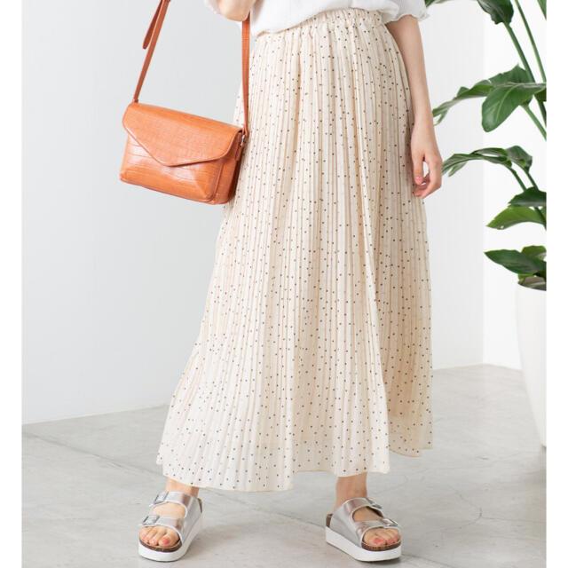 WEGO(ウィゴー)のシフォンプリーツロングスカート レディースのスカート(ロングスカート)の商品写真