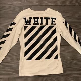 オフホワイト(OFF-WHITE)の【OFF- White】ロンT/s/レディースOK(Tシャツ/カットソー(七分/長袖))