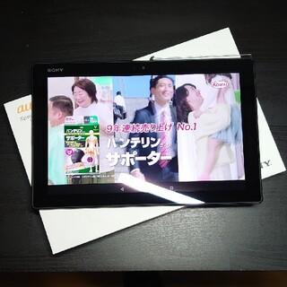 Xperia - 美品 SONY Xperia Z4 Tablet SOT31 SIMフリー 黒