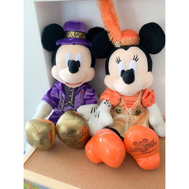 ミッキーミニー ぬいぐるみ エンタメ/ホビーのおもちゃ/ぬいぐるみ(ぬいぐるみ)の商品写真