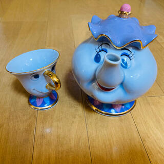 Disney - 美女と野獣♡ポット夫人・チップセット