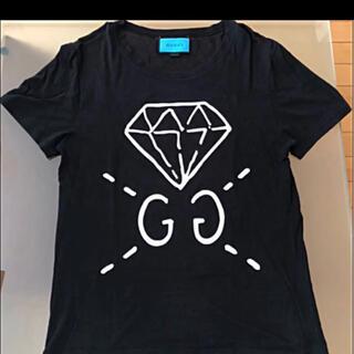 グッチ(Gucci)のGUCCI  グッチ GGゴースト ダイヤモンドTシャツ(Tシャツ/カットソー(半袖/袖なし))