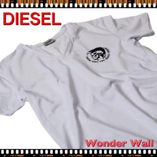 ディーゼル(DIESEL)の【新品】DIESEL ディーゼル Tシャツ 半袖 Vネック(Tシャツ/カットソー(半袖/袖なし))