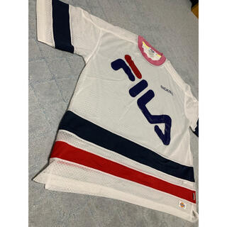 FILA - FILAとDickiesのコラボ ビッグTシャツ オーバーサイズ