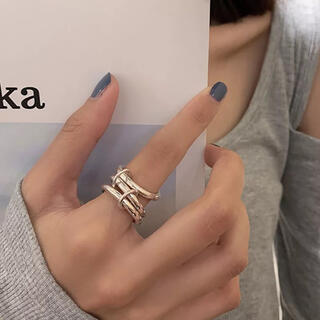 トゥデイフル(TODAYFUL)のlayered ring(リング(指輪))