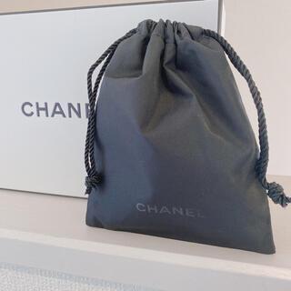 シャネル(CHANEL)のCHANEL❤️mini巾着/ポーチ/ブラック/新品未使用 (ポーチ)