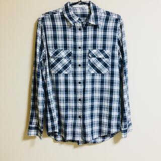 moussy - moussy チェックシャツ ネルシャツ 長袖シャツ
