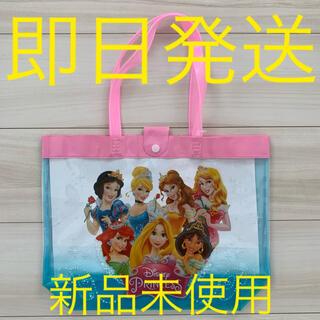 Disney - プリンセス プールバッグ ビニールバッグ ディズニー 子供 キッズ 女の子 新品