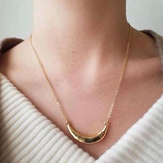 アメリヴィンテージ(Ameri VINTAGE)のcrescent necklace(ネックレス)