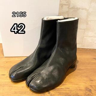 マルタンマルジェラ(Maison Martin Margiela)の新品100%本物Maison Margiela【42】tabiブーツ 足袋(ブーツ)