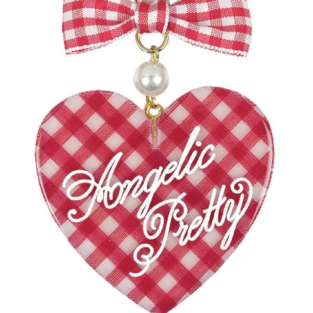 Angelic Pretty(アンジェリックプリティー)のAngelic Pretty Lovelyギンガムネックレス レディースのアクセサリー(ネックレス)の商品写真