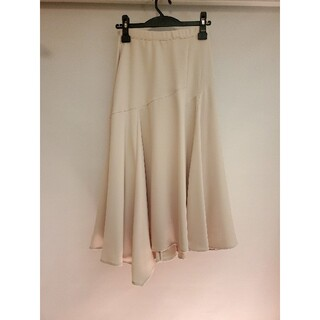 アンドクチュール(And Couture)のアンドクチュール アシンメトリーフレアスカート(ロングスカート)